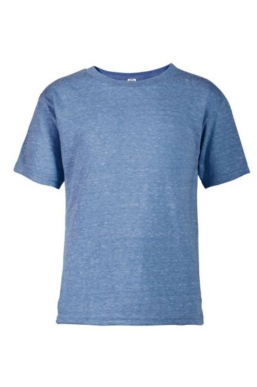 Delta Apparel 14300 - Juvenile 4.3 oz Snow Heather Tee