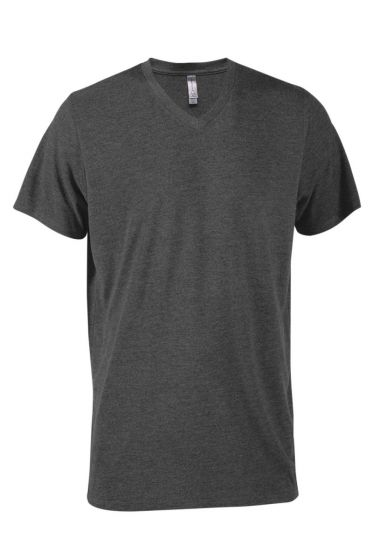 Delta Apparel P602T - Men's Tri-Blend Short Sleeve V-...