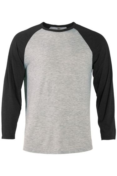 Delta Apparel P611T - Men's 3/4 Sleeve Raglan Tee
