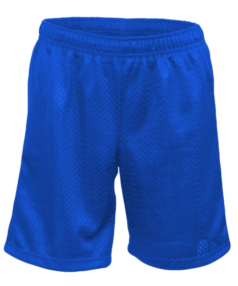 Soffe S4667BP - Youth Birds Eye Mesh Shorts