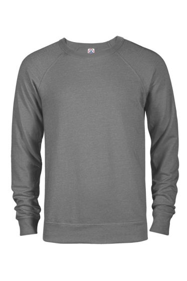 Delta Apparel 97100 - Adult Unisex French Terry Crew