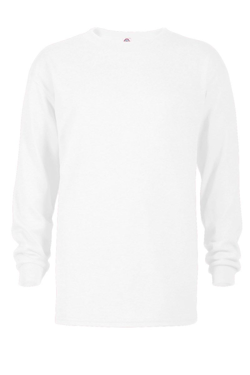 Delta Apparel 64900L - Youth 5.2 oz Retail Fit Long Sleeve Tee