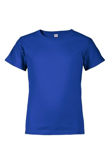 Delta Apparel 65359 - Youth 30/1 Short Sleeve Performance Retail Fit Tee