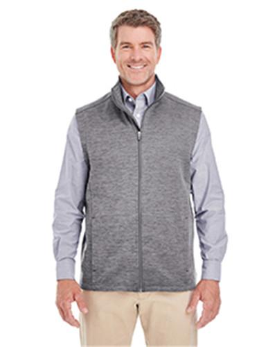 Devon & Jones DG797 - Men's Newbury Melange Fleece Vest