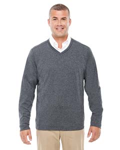 Devon & Jones D884 - Men's Fairfield Herringbone V-Neck ...