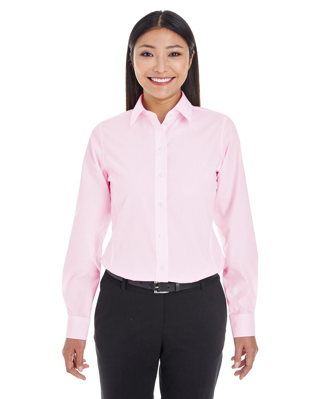 Devon & Jones DG534W - Ladies' Crown Collection™ Striped Shirt