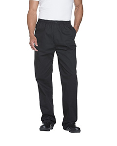 Dickies DC13 - Chef Men's Classic Elastic Waist Zip Trouser