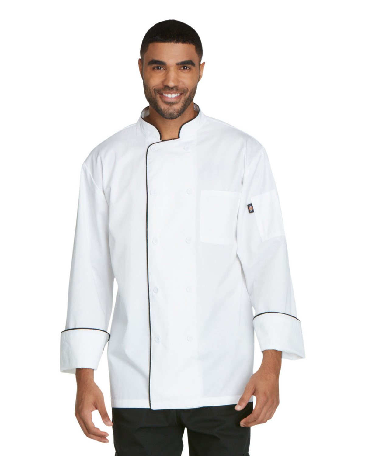 Dickies DC411 - Chef Unisex Cool Breeze Chef Coat with ...