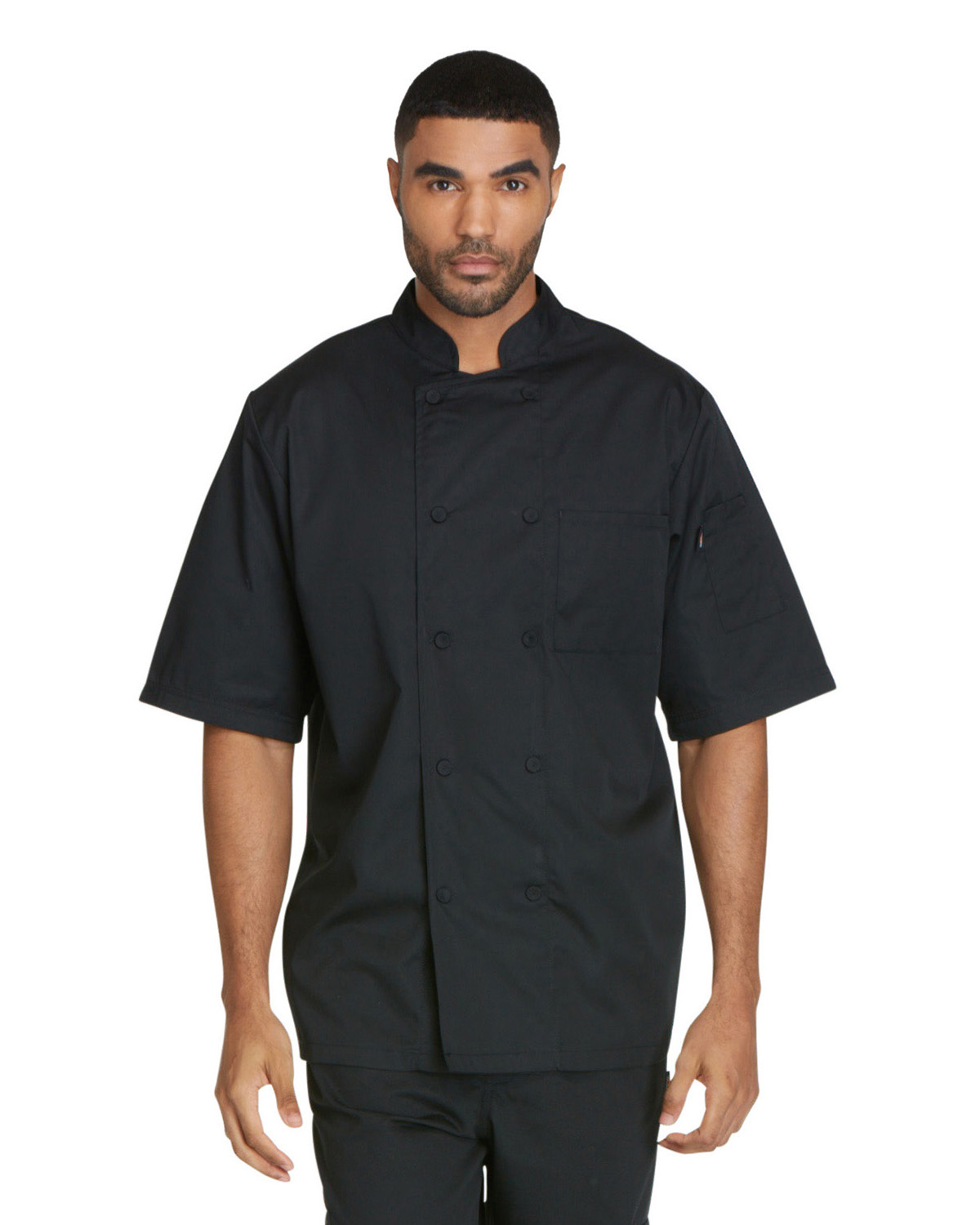 Dickies DC412 - Chef Unisex Short Sleeve Chef Coat