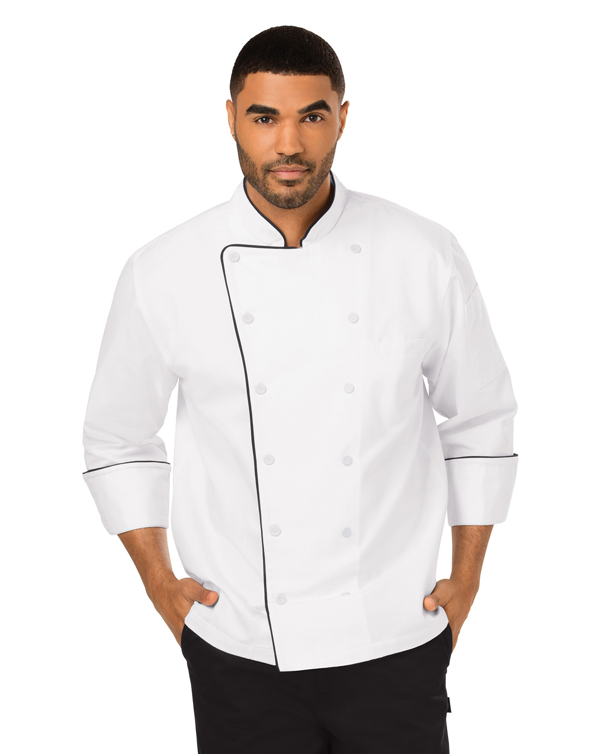 Dickies DC42B - Chef Unisex Executive Chef Coat with ...