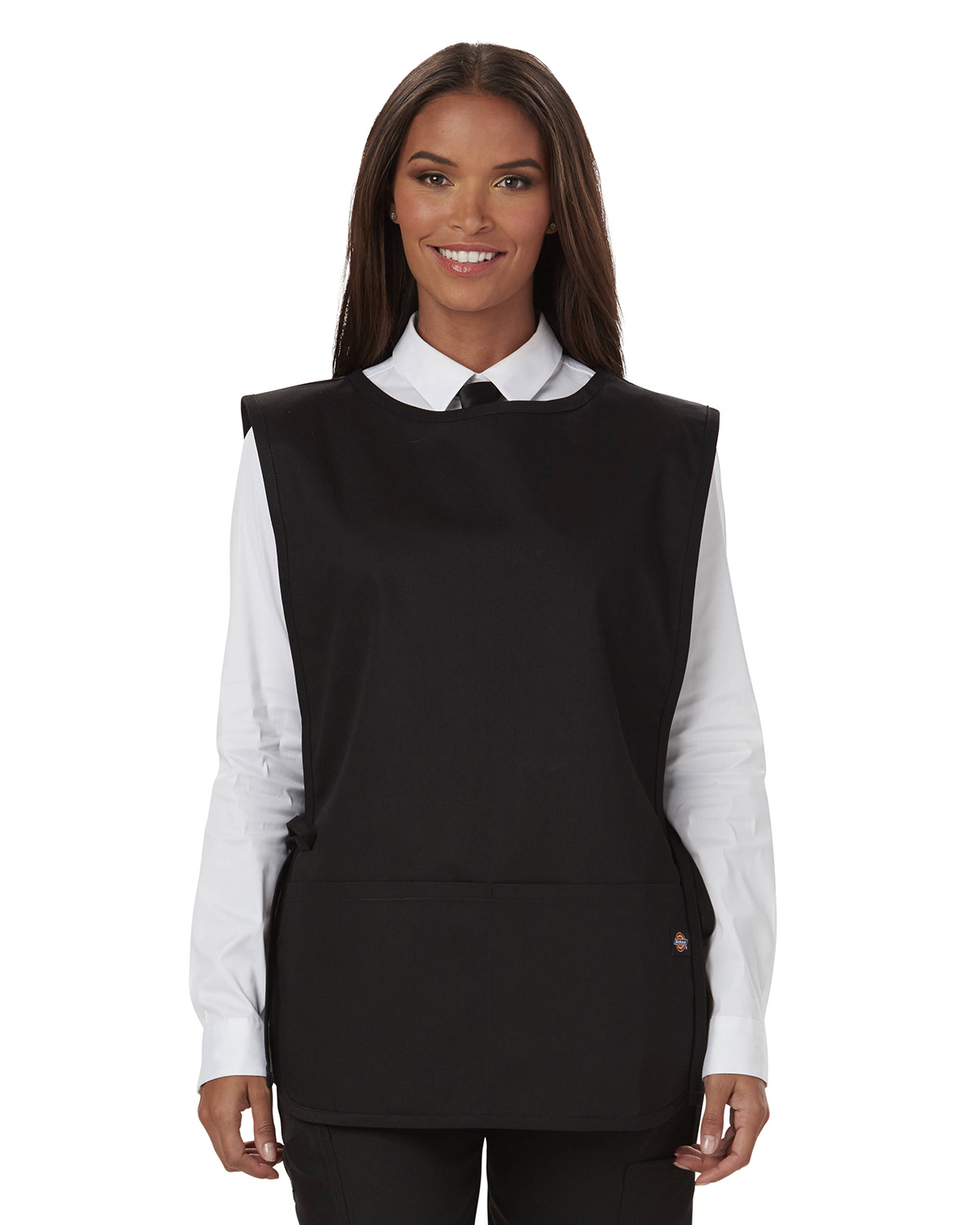 Dickies DC50 - Chef Cobble Bib Apron with Tie Sides