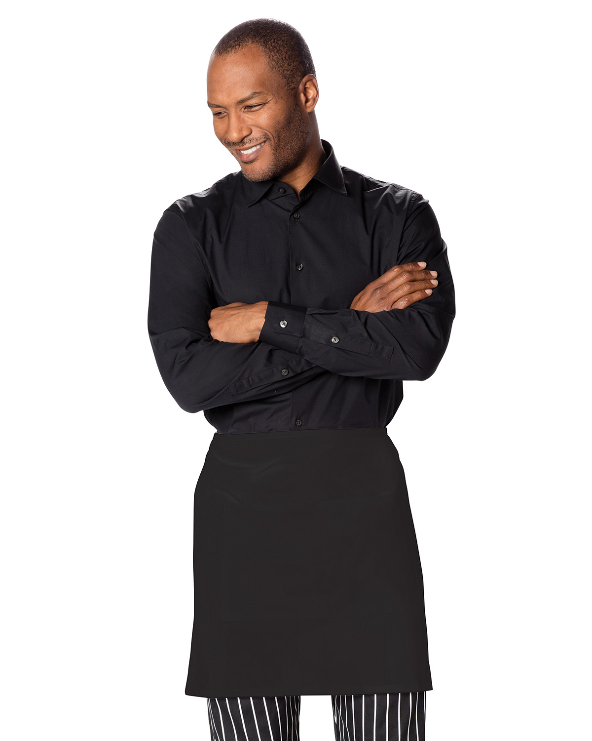Dickies DC57 - Chef Half Bistro Waist Apron with 2 Pockets