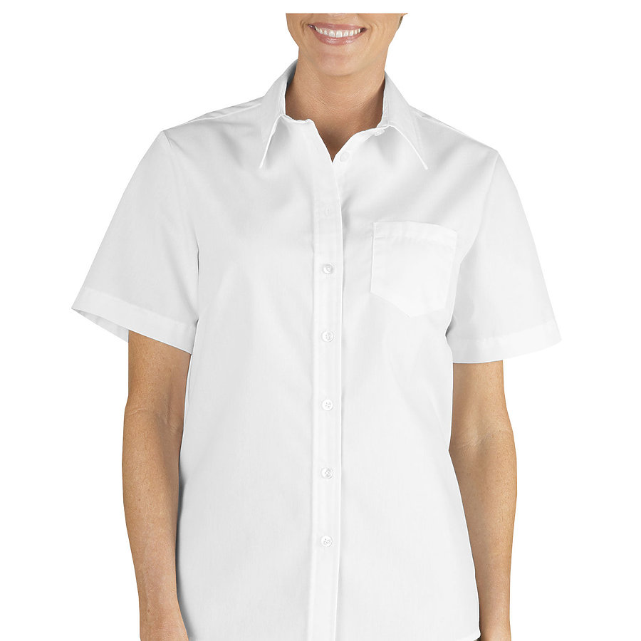 Dickies FS136 - Drop Ship Women's Short Sleeve Stretch ...