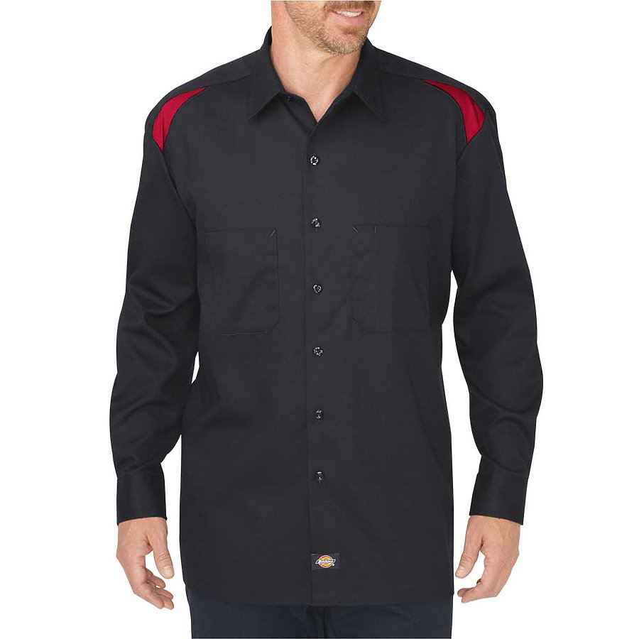 Dickies LL605 - Twill Shop Series Long Sleeve Work Shirt