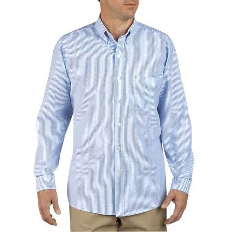 Dickies SS36 - Long Sleeve Button-Down Oxford Shirt