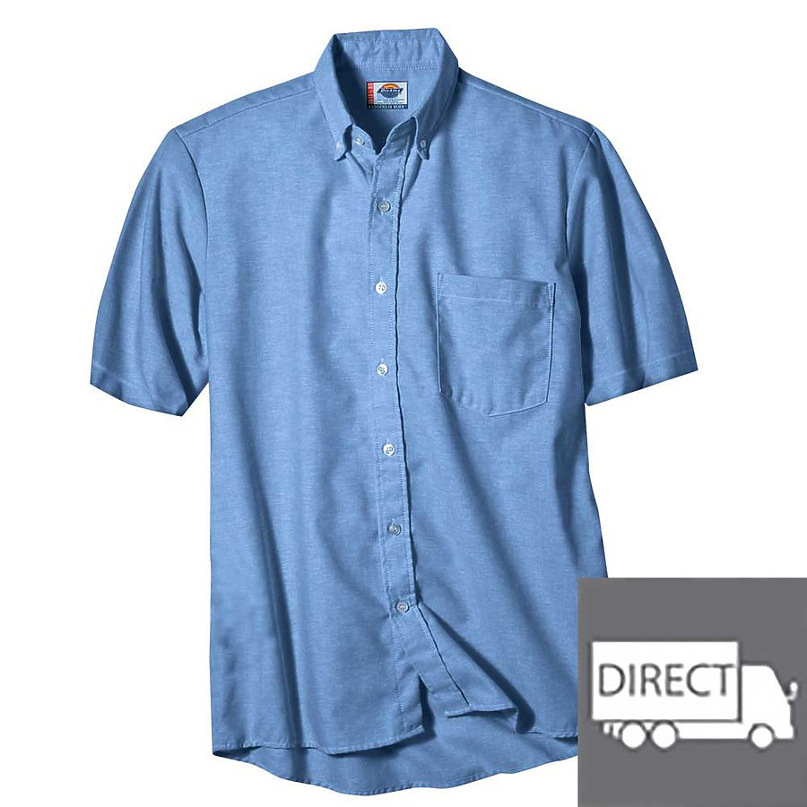 Dickies SS46 - Short Sleeve Button-Down Oxford Shirt