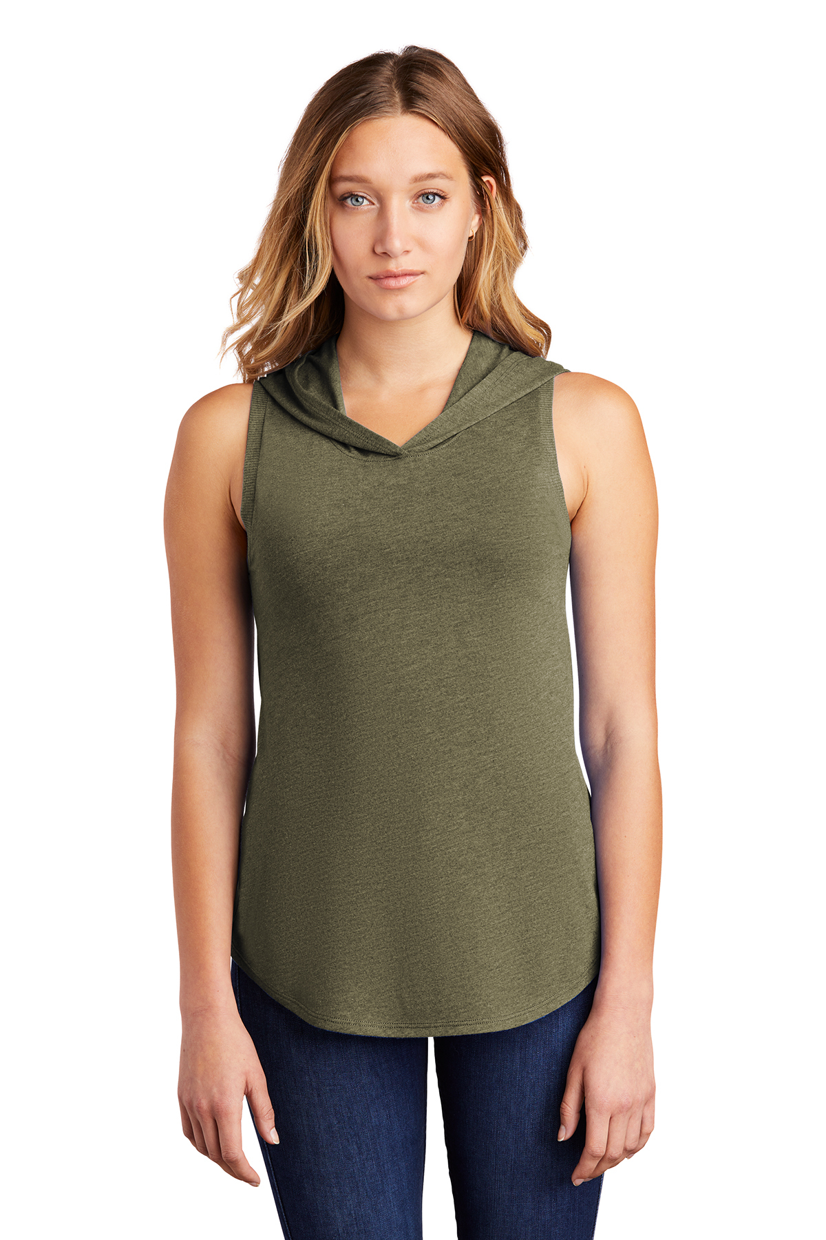 District DT1375 - Women's Perfect Tri Sleeveless Hoodie