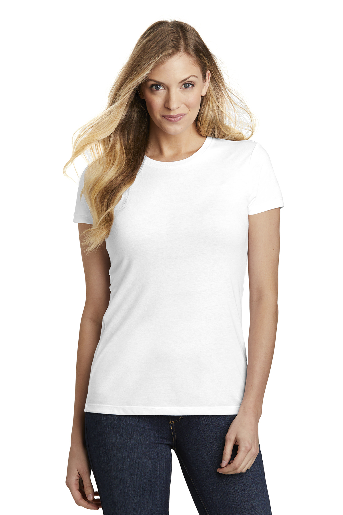 District DT155 - Women's Fitted Perfect Tri Tee