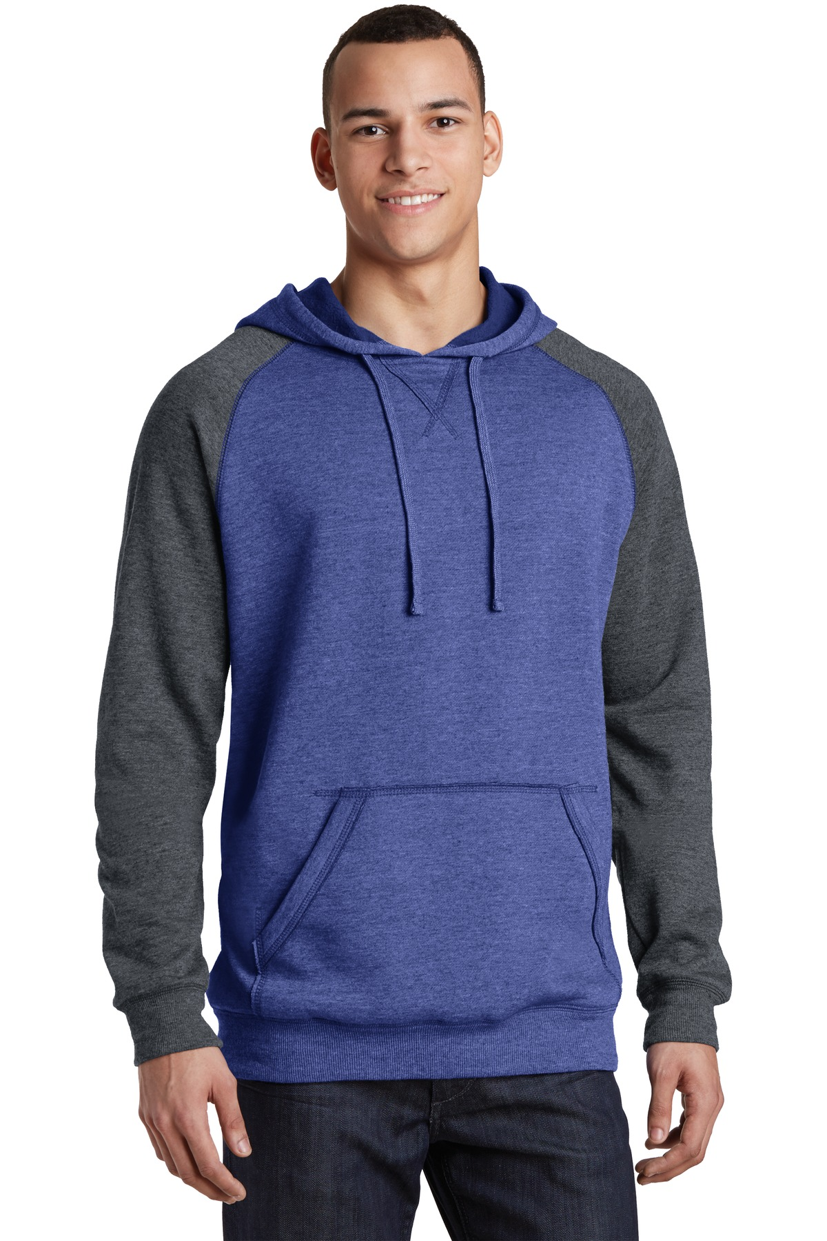 District  DT196 - Young Mens Lightweight Fleece Raglan ...
