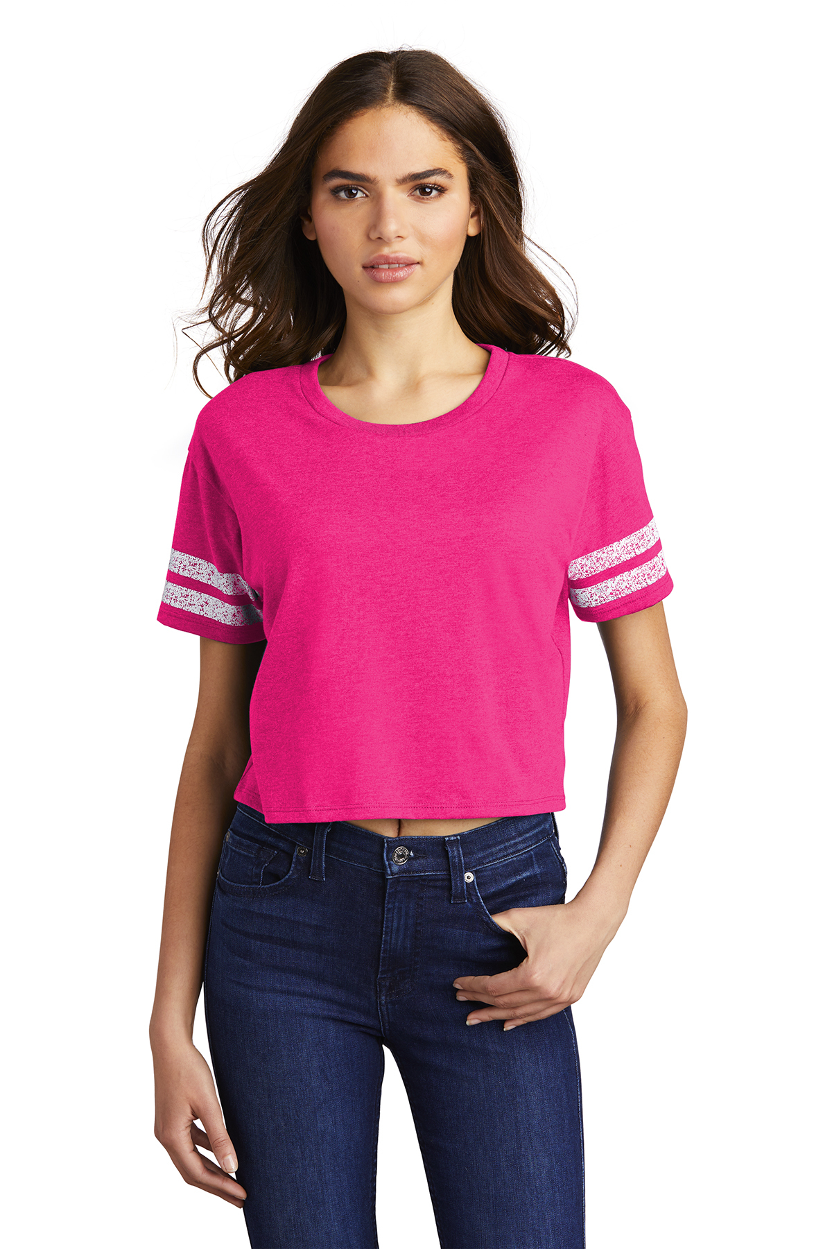 District DT488 - Women's Scorecard Crop Tee