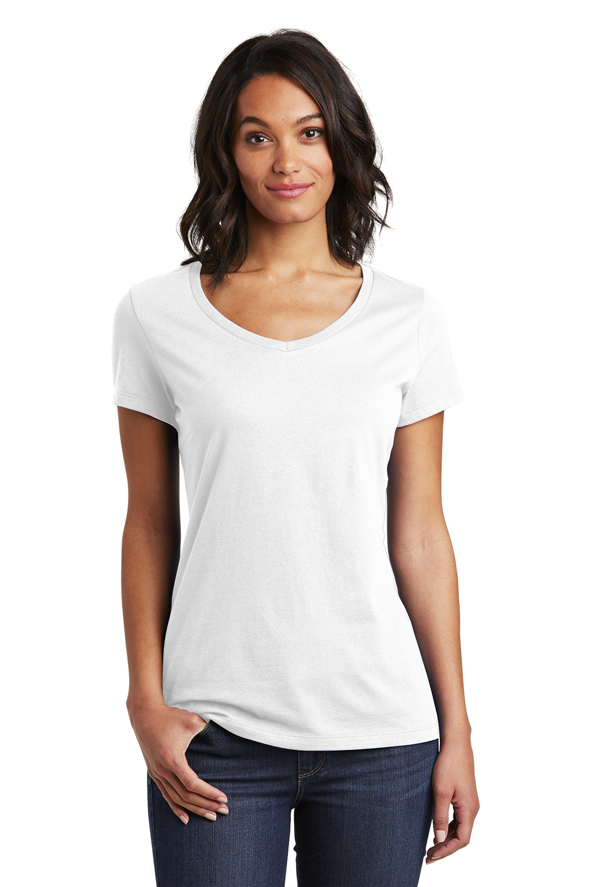 District DT6503 - Women's Very Important Tee V-Neck