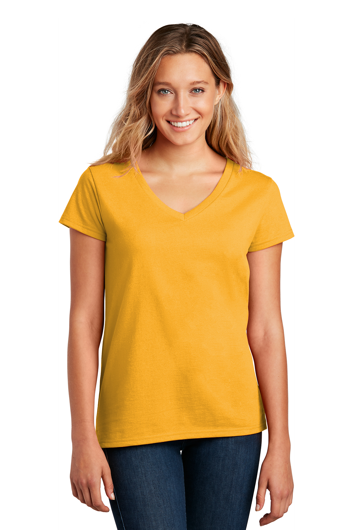 District ® DT8001 - Women's Re-Tee ™ V-Neck