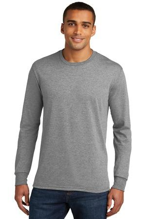 District Made DM132 - Men's Perfect Tri® Long Sleeve ...