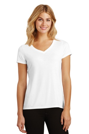 District Made® DM1350L-Ladies Perfect Tri™ V-Neck Tee