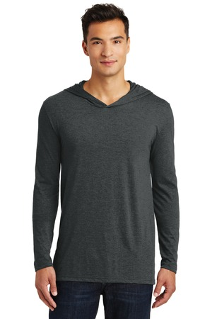 District Made DM139 - Mens Perfect Tri Long Sleeve Hoodie