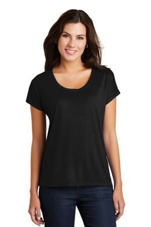 District Made® DM412 - Ladies Drapey Dolman Tee