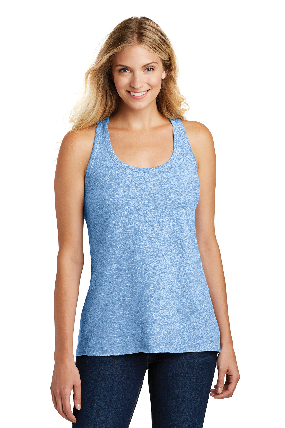 District Made® DM466A - Ladies Cosmic Twist Back Tank