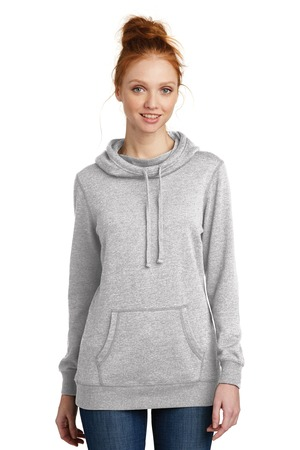 District Made DM493 - Ladies Lightweight Fleece Hoodie