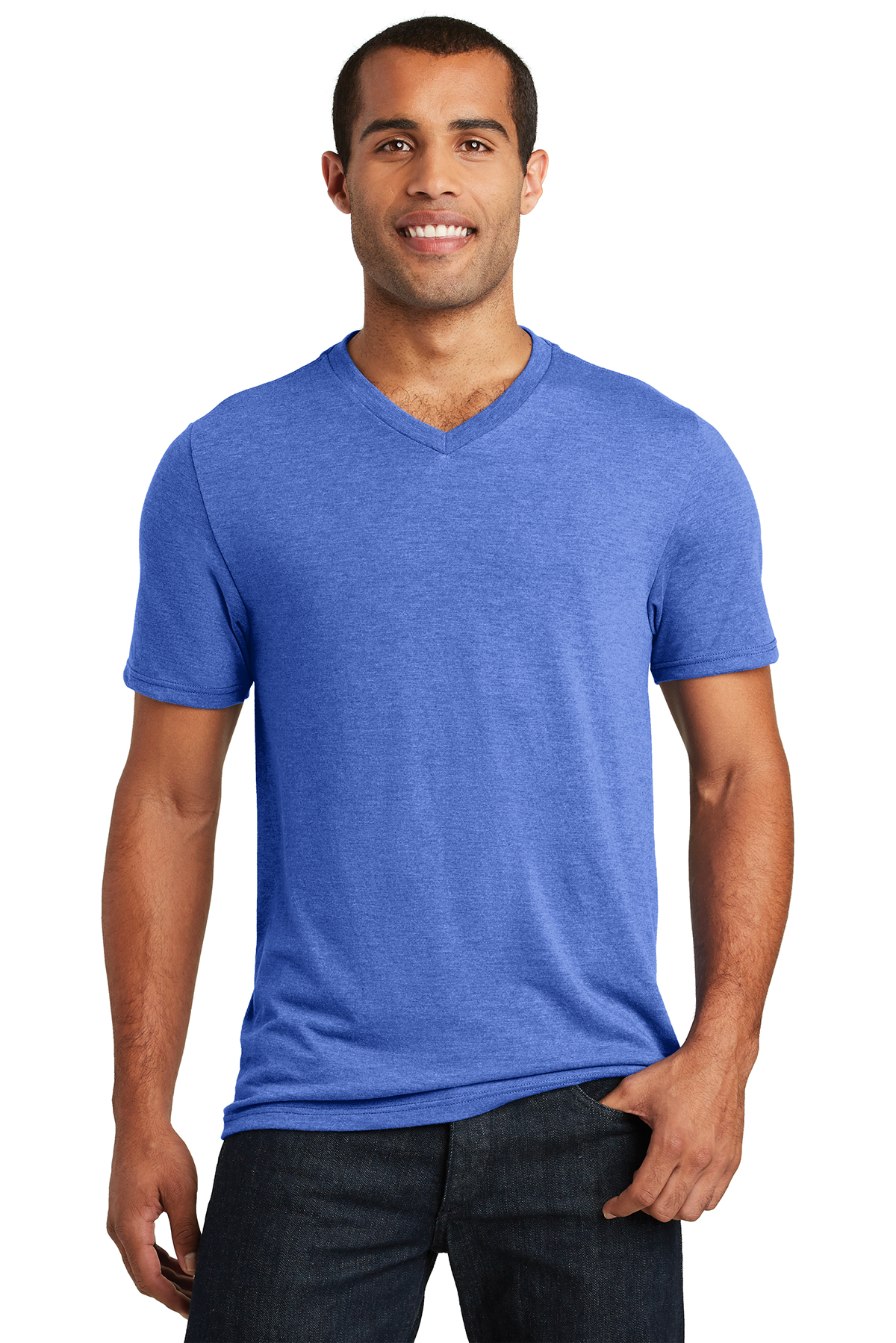 District Made® DT1350 - Mens Perfect Tri® V-Neck Tee