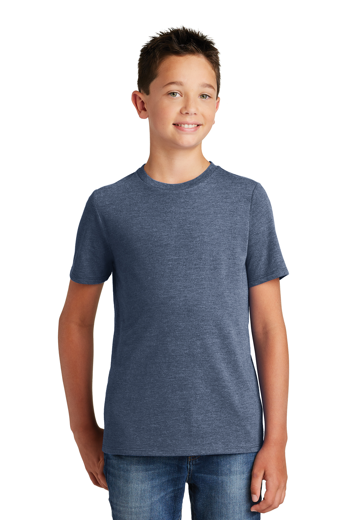 District Made DT130Y - Youth Perfect Tri Crew Tee