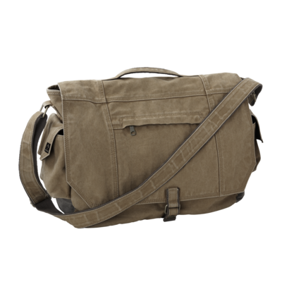 DRI-Duck 1036 Canvas Messenger Bag