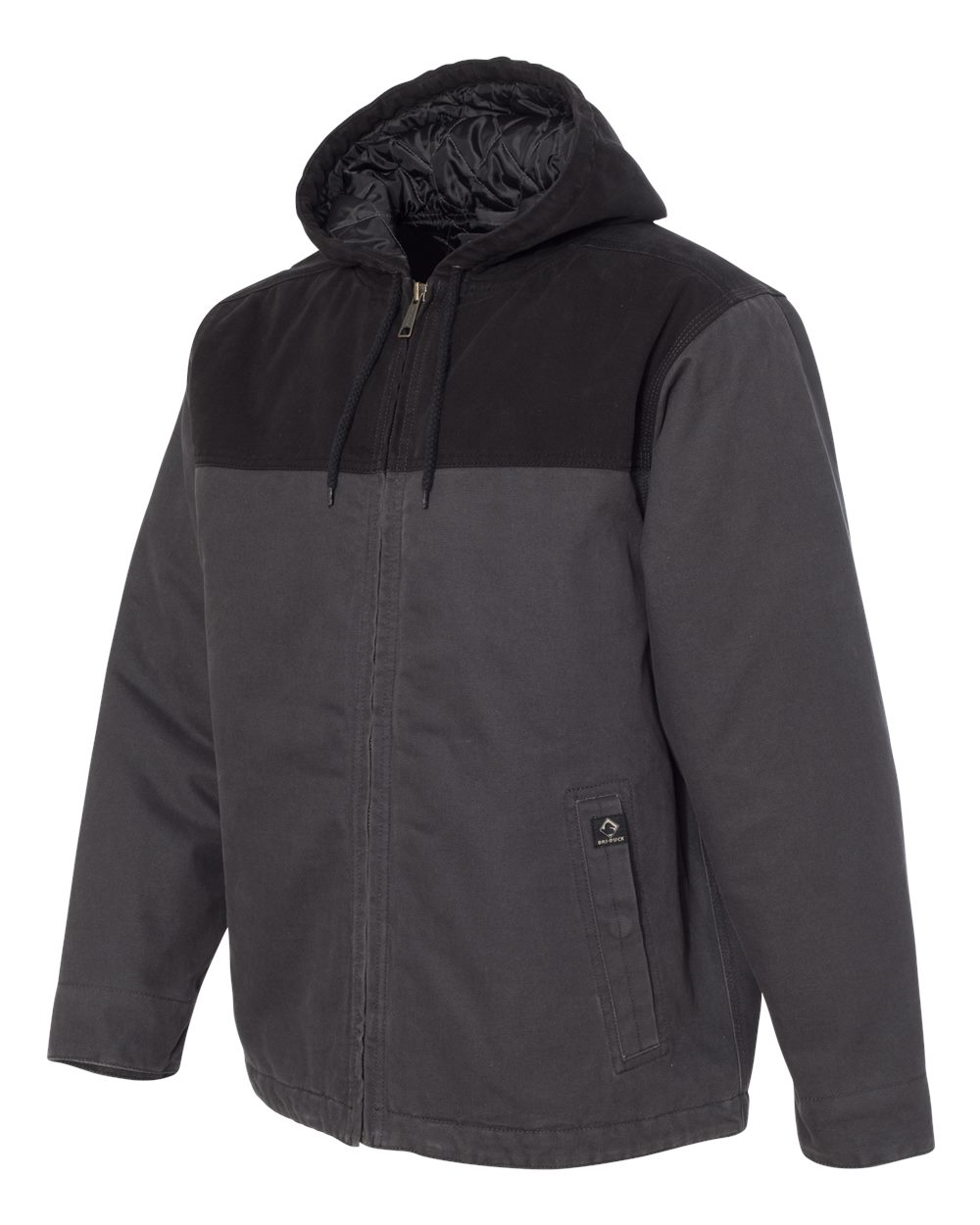 DRI DUCK 5058 - Terrain Hooded Boulder Cloth Jacket
