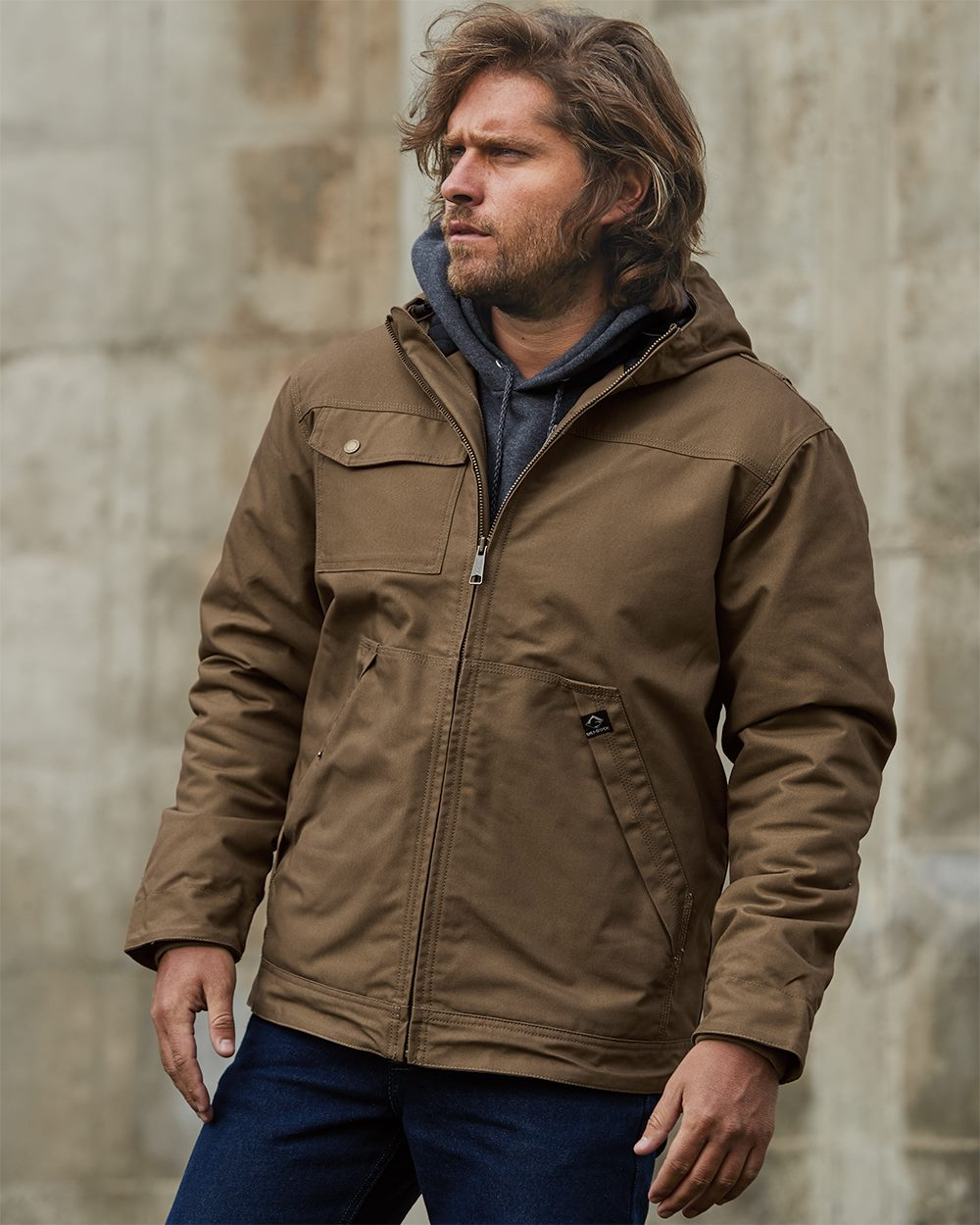 DRI DUCK 5065 - Yukon Canvas Hooded Jacket