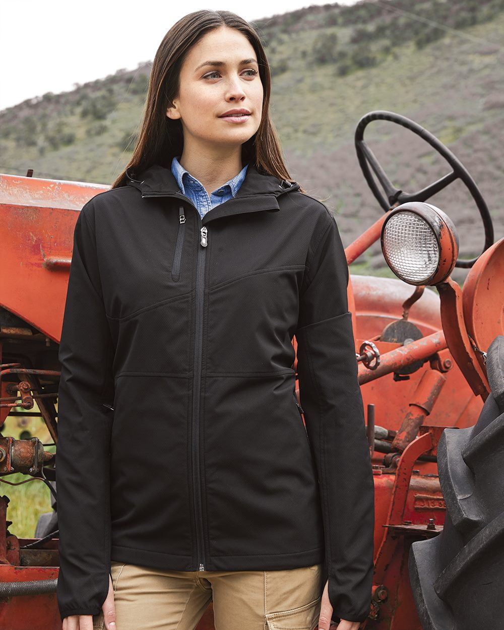 DRI DUCK 9411 - Women's Ascent Hooded Soft Shell Jacket