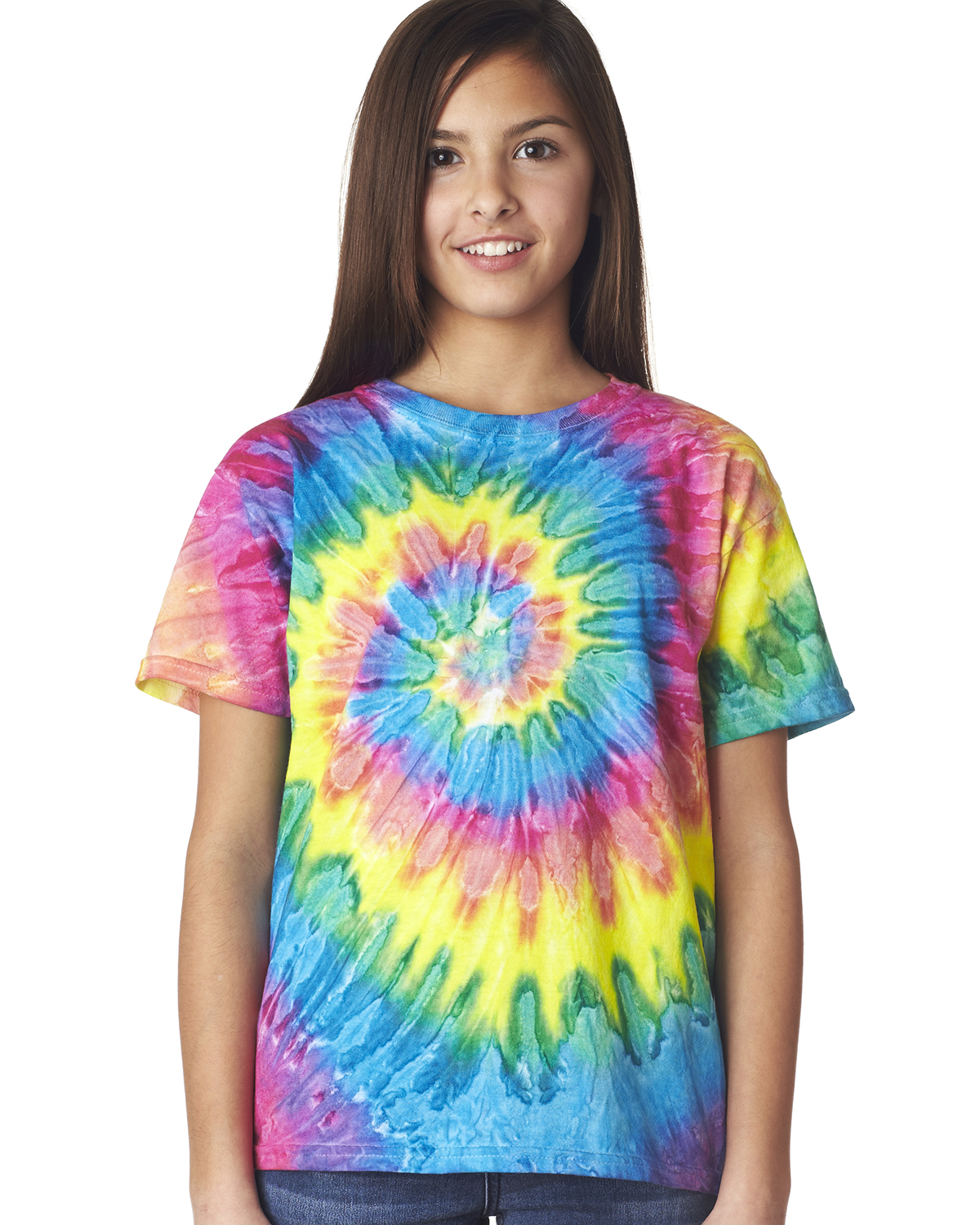 Dyenomite 20BRP - Youth Ripples Pigment-Dyed Tee