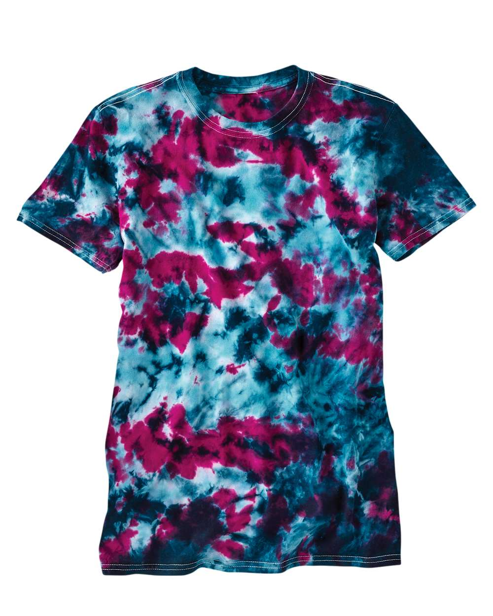 Dyenomite 640LM - LaMer Over-Dyed Crinkle Tie Dye T-Shirt