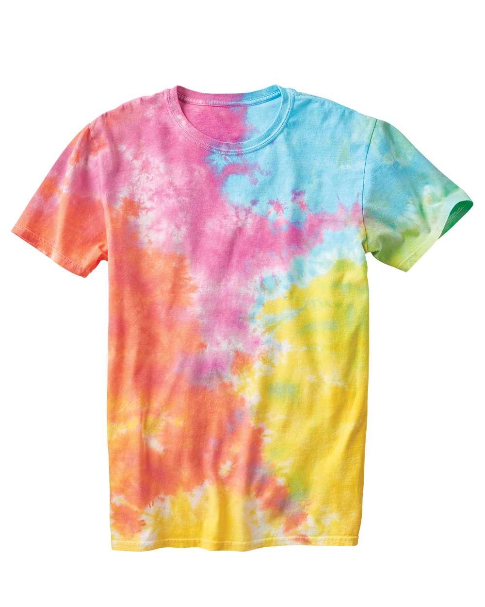Dyenomite 640VR - Slushie Crinkle Tie Dye T-Shirt