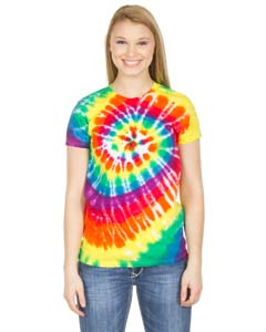 Dyenomite Drop Ship 150MS - Junior Spiral Tie-Dye T-Shirt