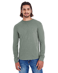 Econscious EC1588 - Men's Heather Sueded Long Sleeve Jersey
