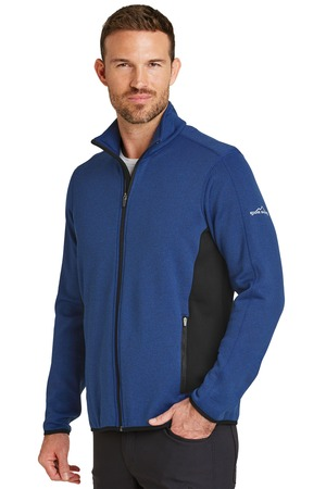 Eddie Bauer® EB238-Full-Zip Heather Stretch Fleece Jacket