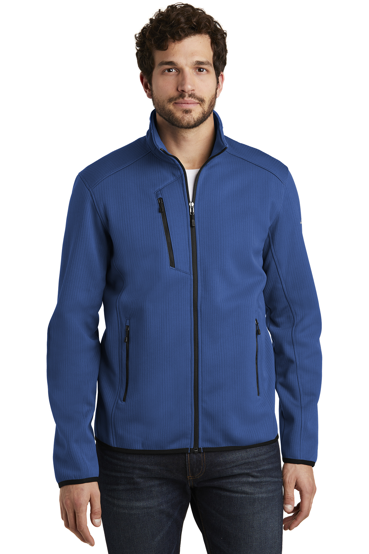 Eddie Bauer EB242 - Men's Dash Full-Zip Fleece Jacket