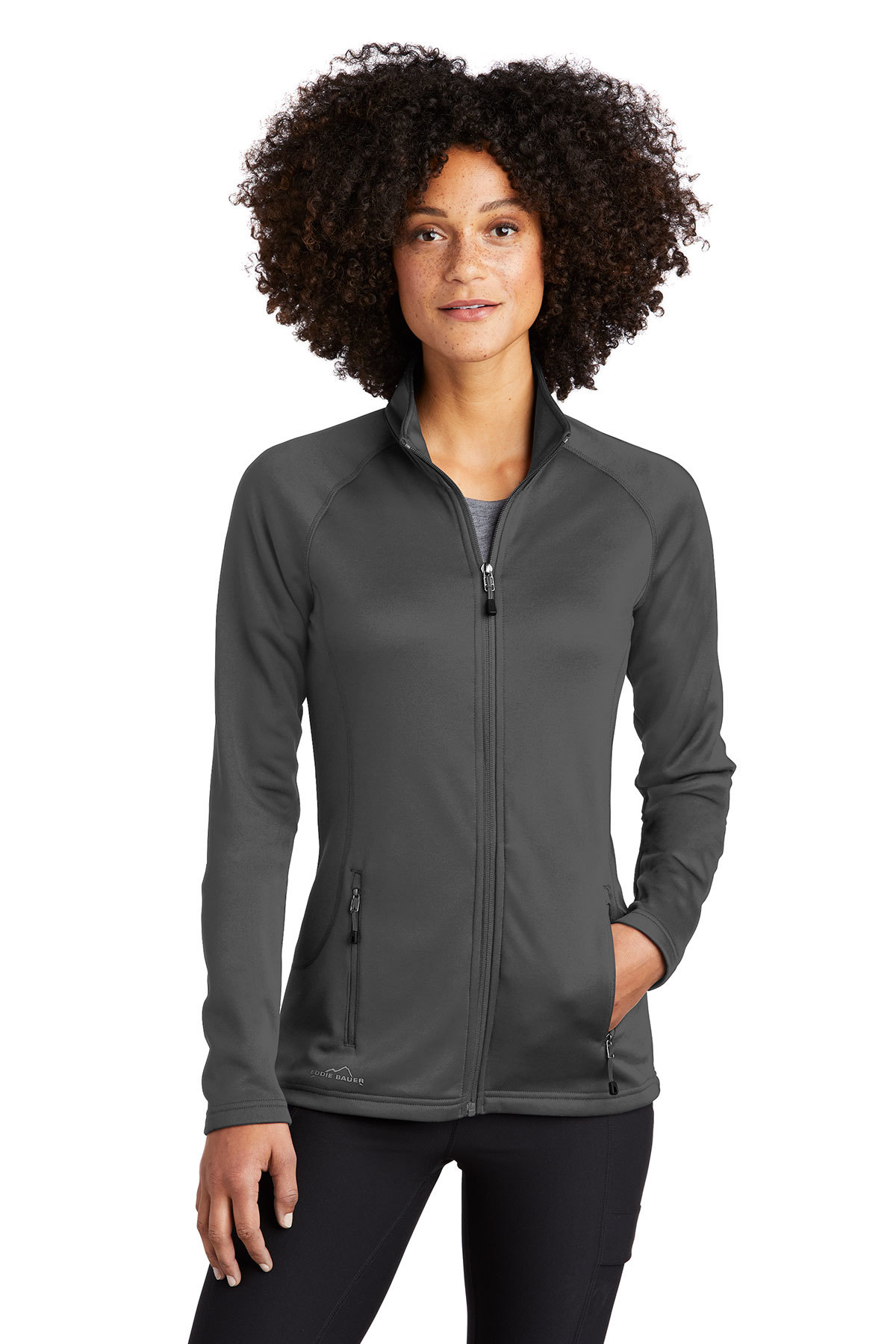 Eddie Bauer EB247 - Ladies Smooth Fleece Base Layer ...