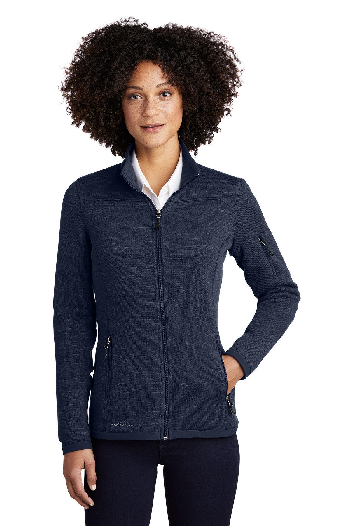 Eddie Bauer EB251 - Ladies Sweater Fleece Full-Zip