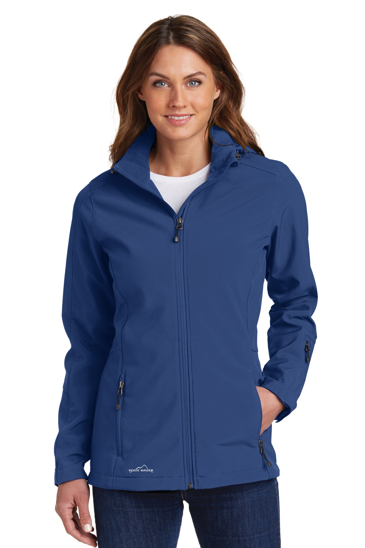 Eddie Bauer  EB537 - Ladies Hooded Soft Shell Parka