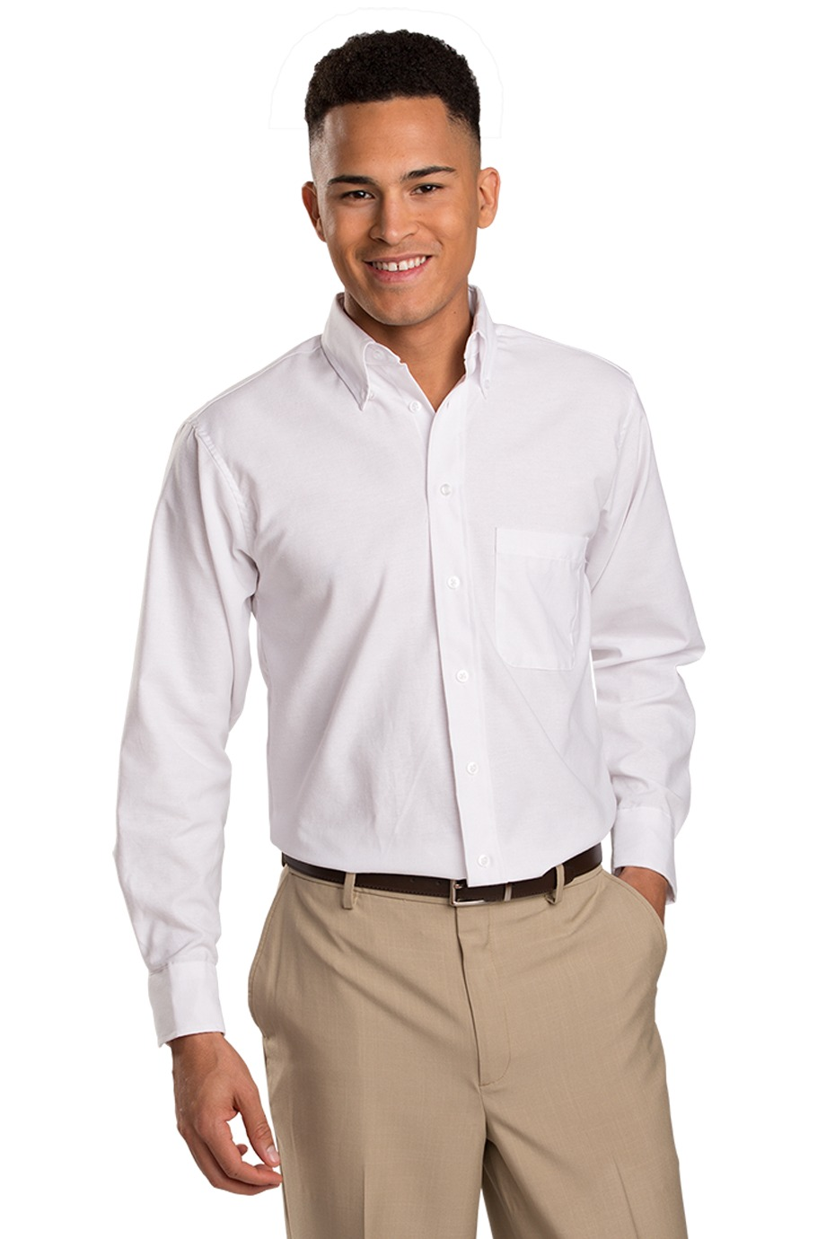 Edwards Garment 1078 - Oxford Long Sleeve Shirt