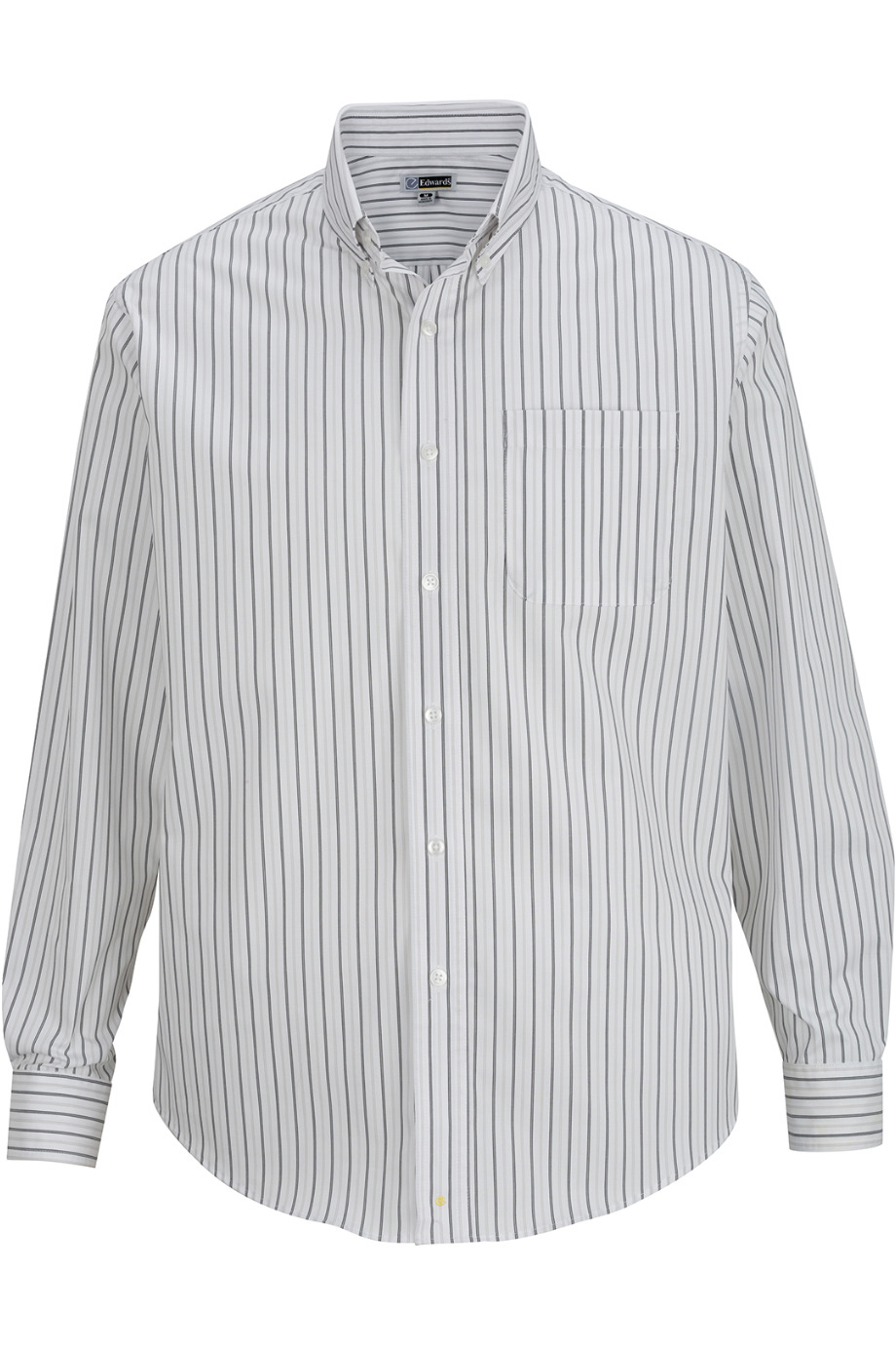 Edwards Garment 1983 - Men's Double Stripe Poplin